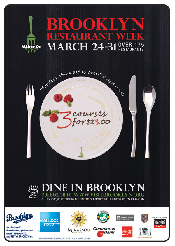 Dine In Brooklyn, 24th March - 31st March